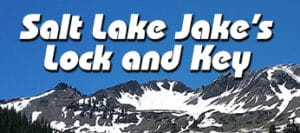 Salt Lake Jake's Lock and Key logo